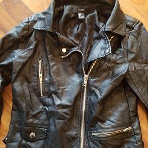 FOREVER 21 JACKET Small women Faux Leather